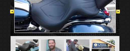 Laam Custom Motorcycle Seats